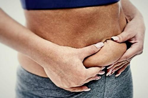 как похудеть в животе за 1 день