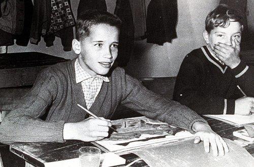 Шварценеггер в 1958 году