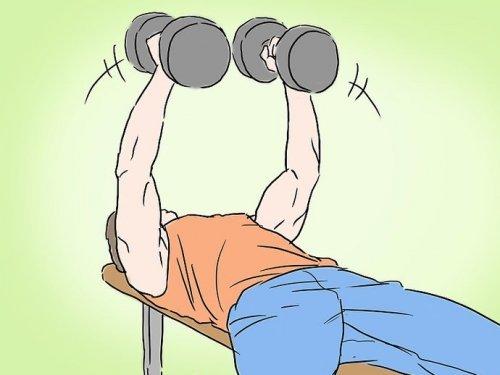 упражнения на грудные мышцы мужчин