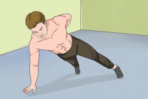 упражнения и тренировки мужчин дома
