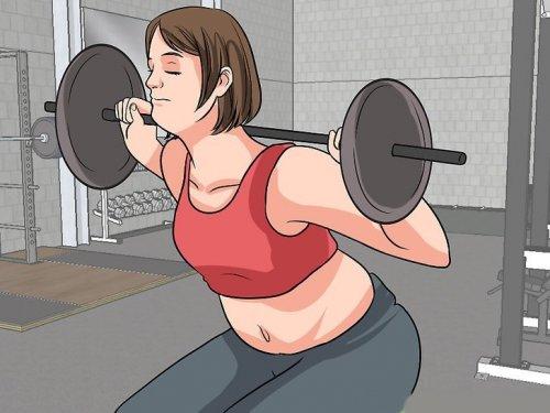 тренировки женщин в тренажерном зале 2