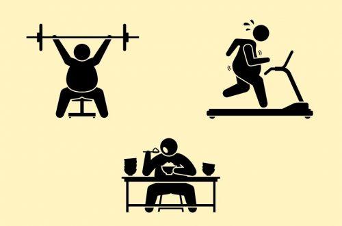 правила питания и спорта