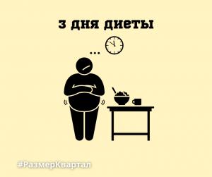3 дня диеты